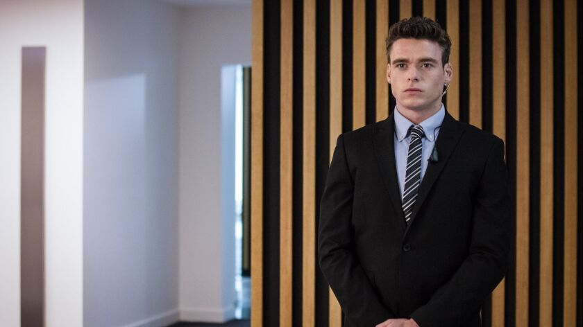 "Richard Madden in a scene from ""Bodyguard."" Credit: Sophie Mutevelian/World Productions/Netflix"