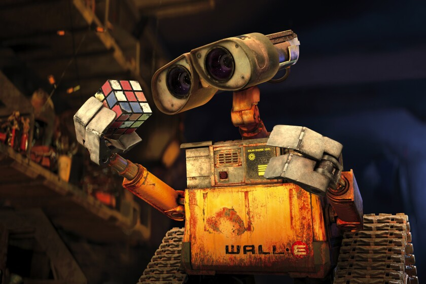 """A scene from Disney/Pixar's animated movie """"Wall-E."""" Disney and Pixar are among the film companies being accused in a lawsuit of wage-fixing and non-solicitation agreements."""