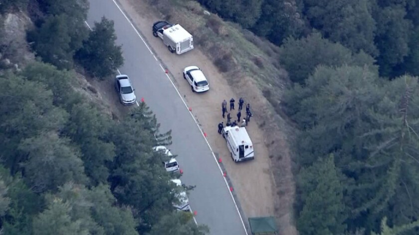 Human remains found in Angeles National Forest