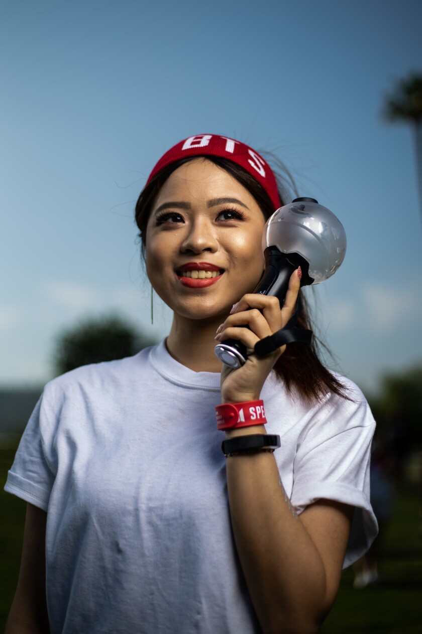 PASADENA, CALIF. - MAY 04: Jessica Chih, 24, of Los Angeles poses for a portrait before heading into