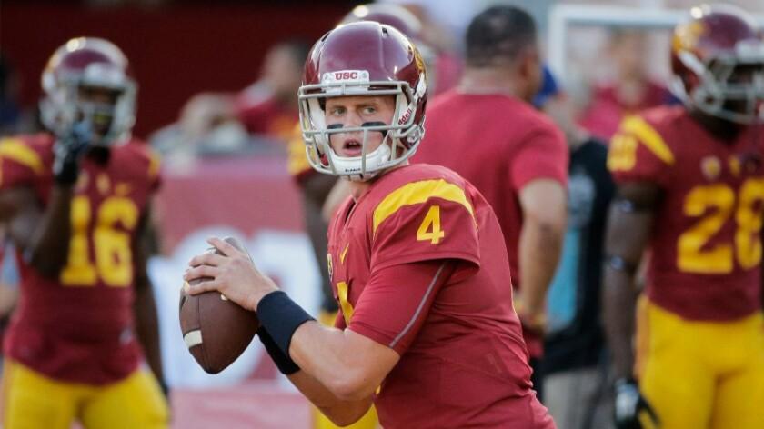 Max Browne named USC's starting quarterback of Sam Darnold