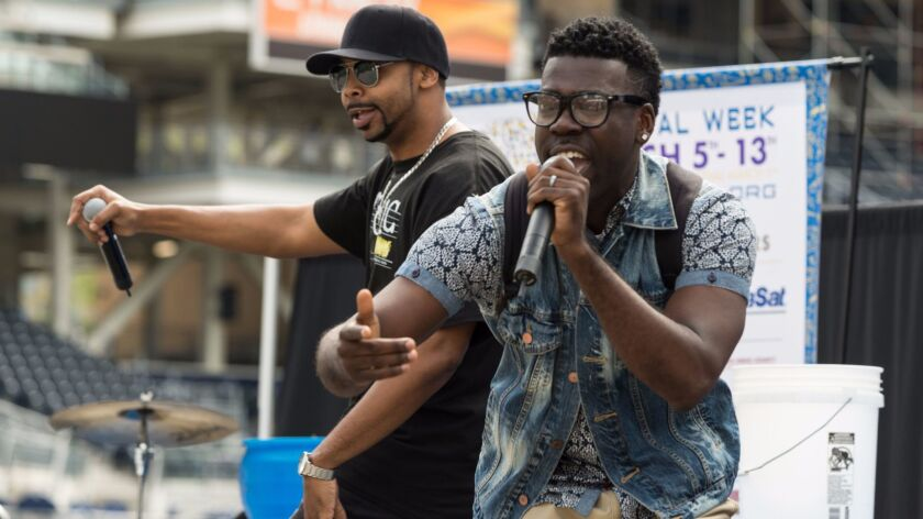 Math rappers, The Music Notes, will perform on the main stage at Biocom Institute Festival of Science and Engineering's Expo Day.