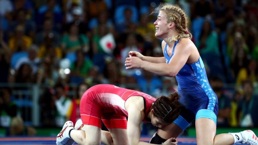 Helen Maroulis wins first-ever wrestling gold for U.S. women