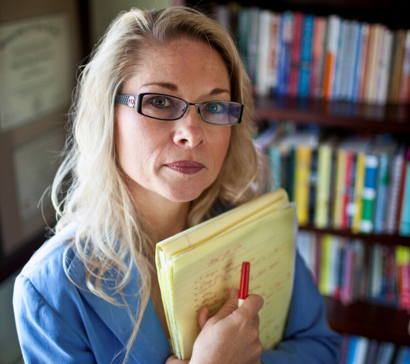 Rebecca Friedrichs, a veteran Orange County public school teacher, sued to challenge the mandatory fees paid to the California Teachers Assn.