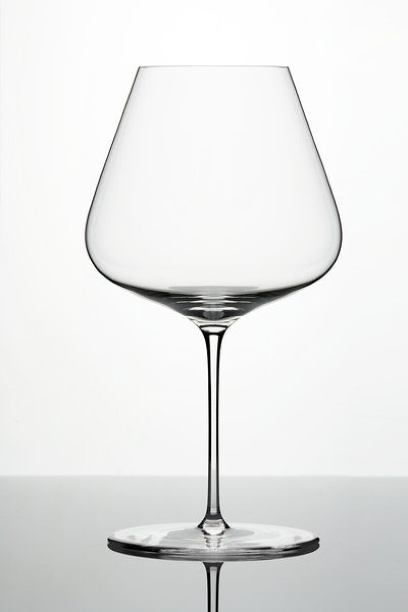 The Burgundy glass from Zalto's relatively small line of stemware.