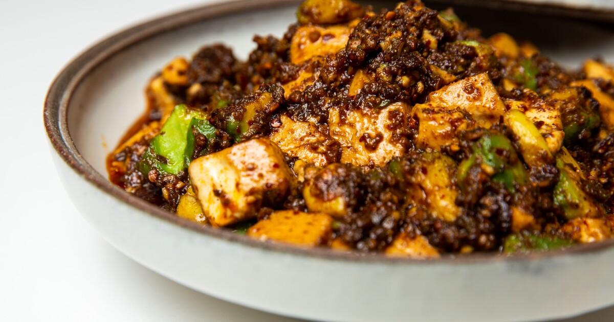 The ultimate mapo tofu recipe has a California twist