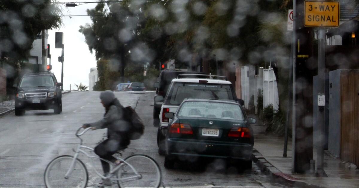 Hujan minggu ini di tekan untuk Southern California