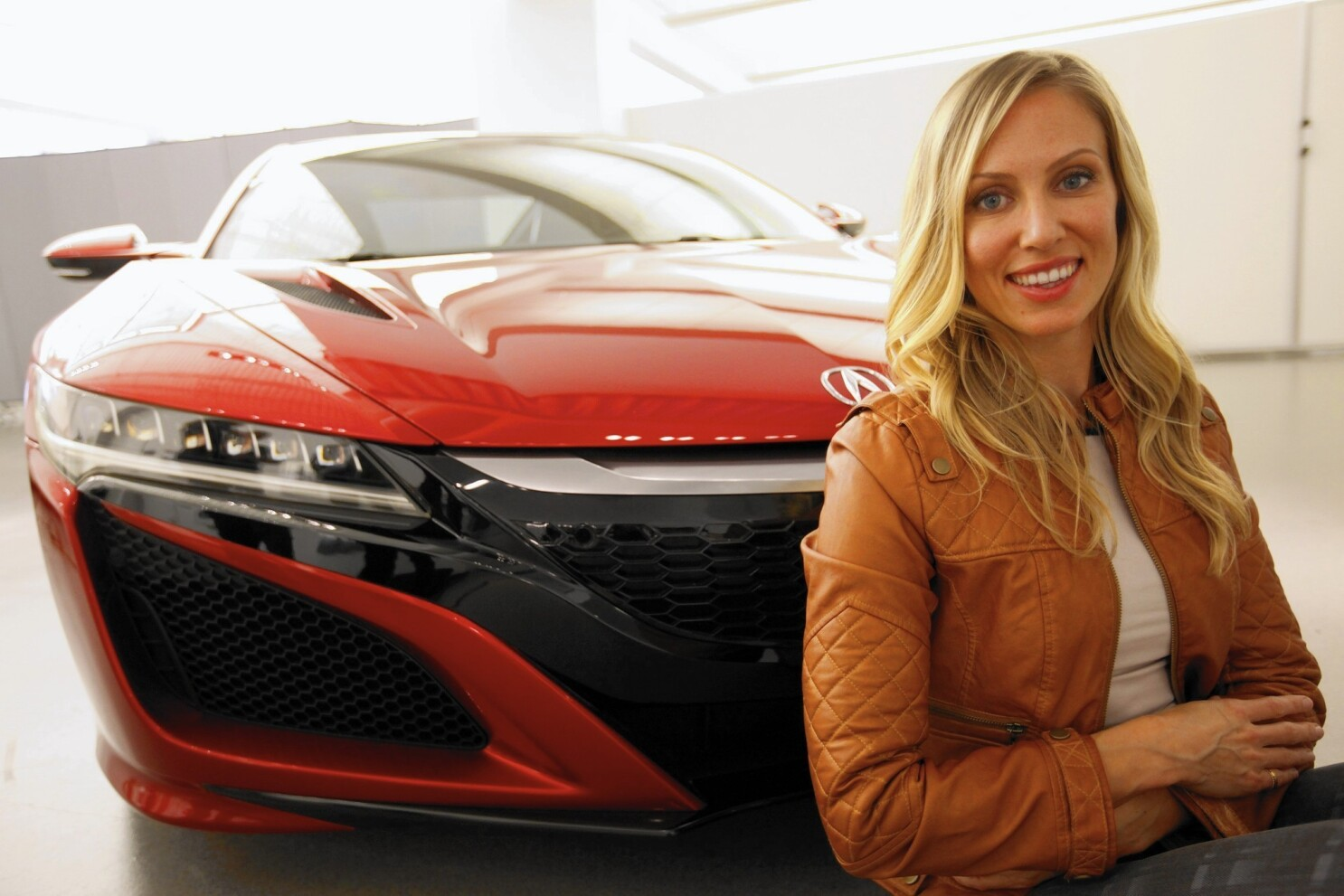 For New Nsx Acura S Designing Woman Los Angeles Times