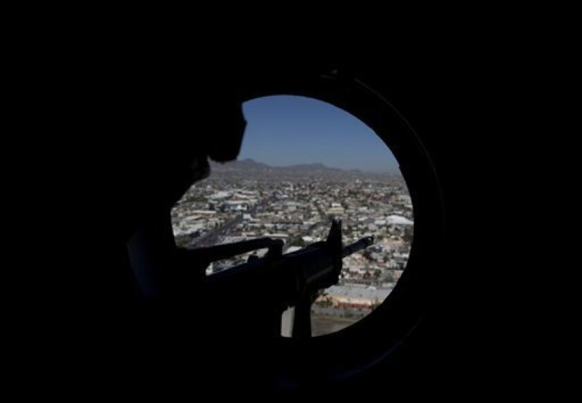 Police take over from army in Mexico border city - The San