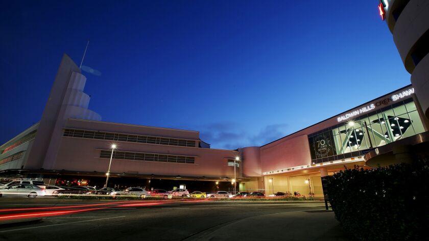 The Baldwin Hills Crenshaw Plaza mall