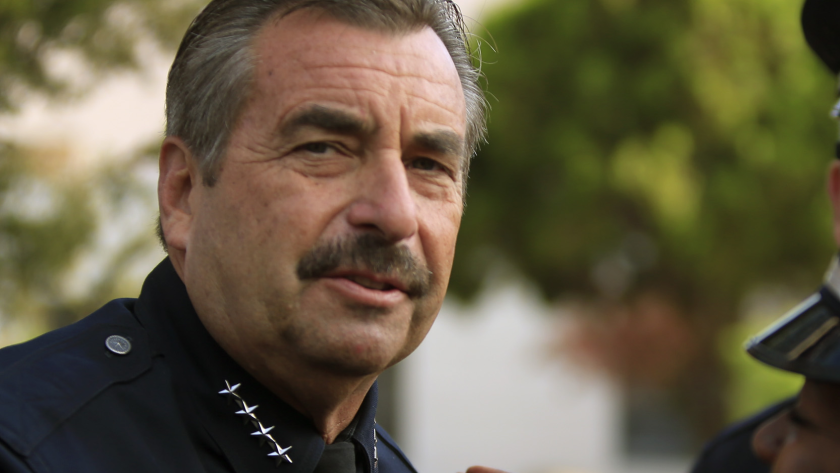 LAPD chief defends car impound policy
