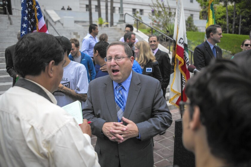 City Councilman Paul Koretz, who co-authored the proposed ban on genetically modified organisms, expected his colleagues to rubber-stamp it as they had many times before.