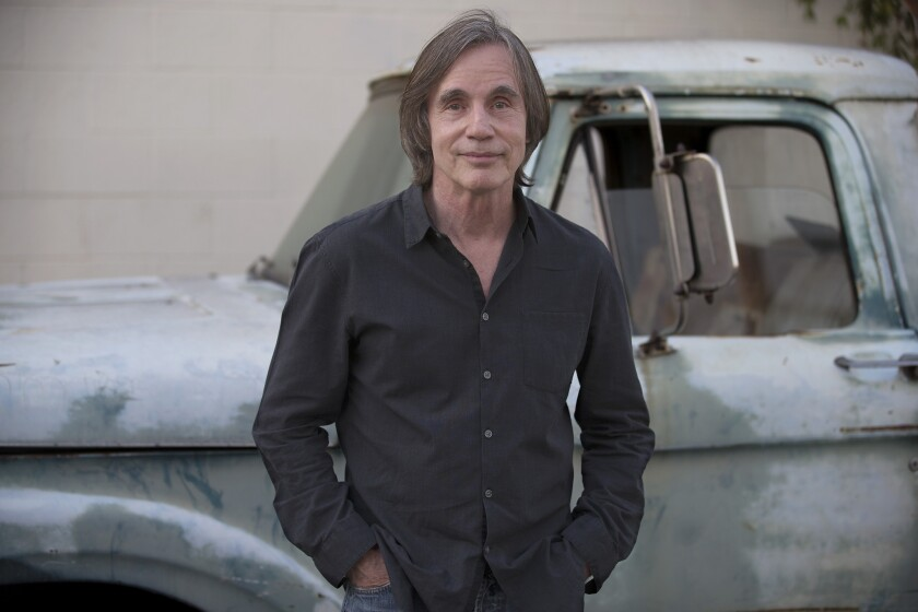 """Jackson Browne is putting the finishing touches on his album """"Standing in the Breach."""""""