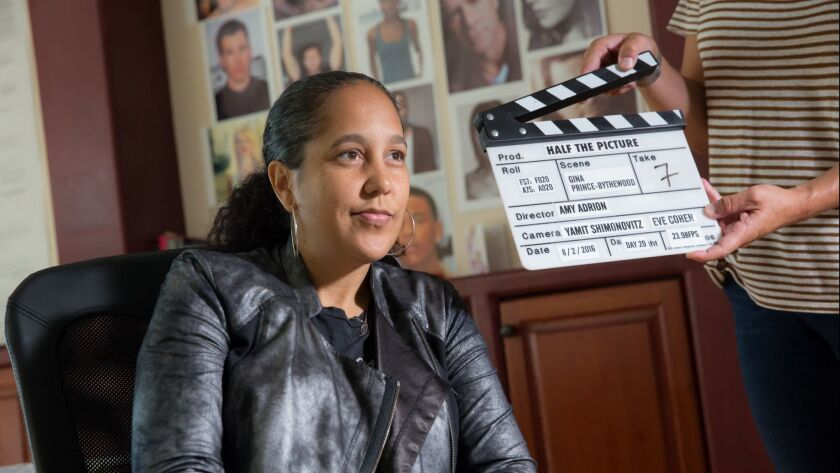 """Gina Prince-Bythewood, Sherman Oaks, CA, August 2, 2016, in a scene from """"Half the Picture"""" movie. P"""