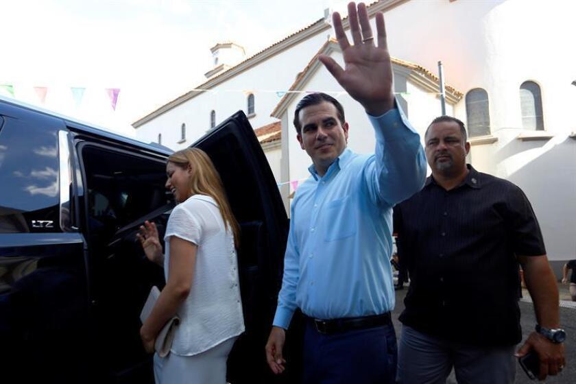 Durante su ponencia, el gobernador, Ricardo Rosselló, resaltó cómo la estadidad para Puerto Rico la sería principal herramienta para rescatar al país del estancamiento económico que le aqueja, informó en un comunicado la Cámara. EFE/Archivo