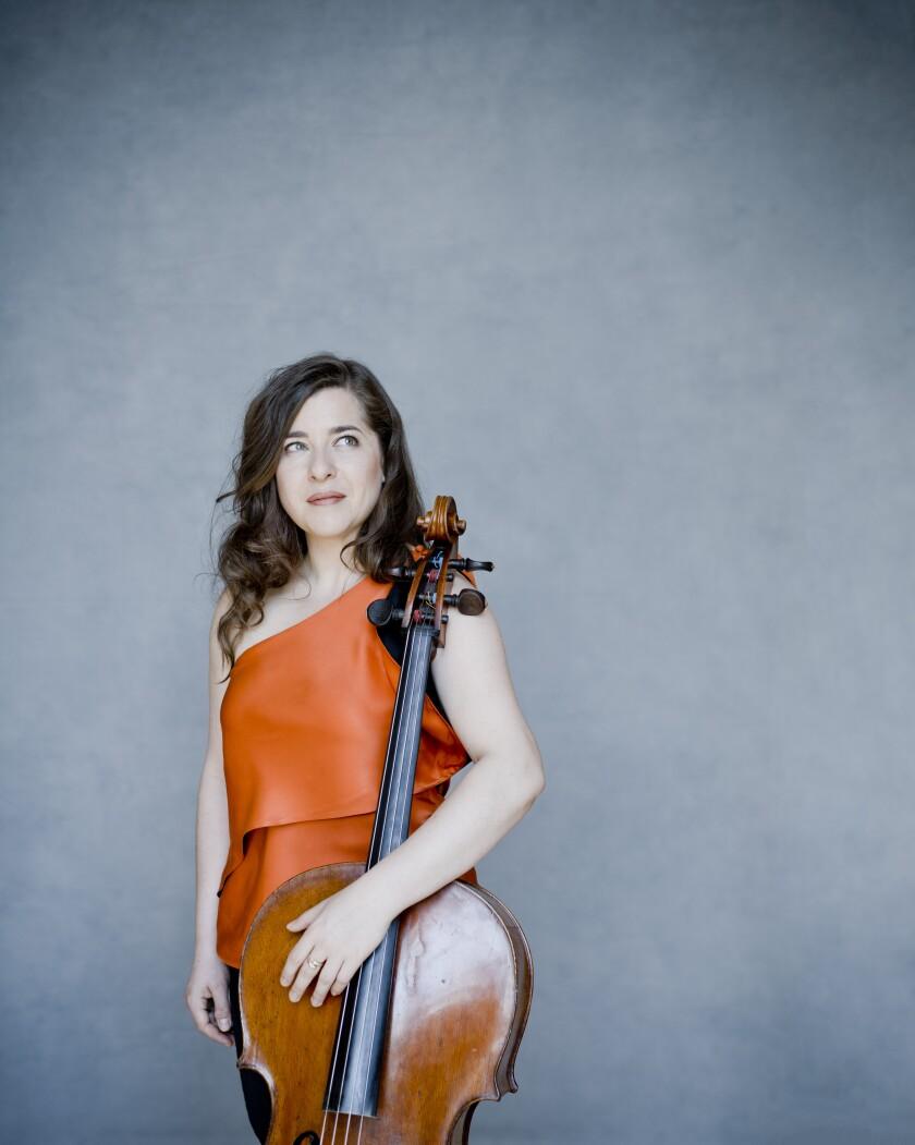 Alisa Weilerstein, world-renowned cellist