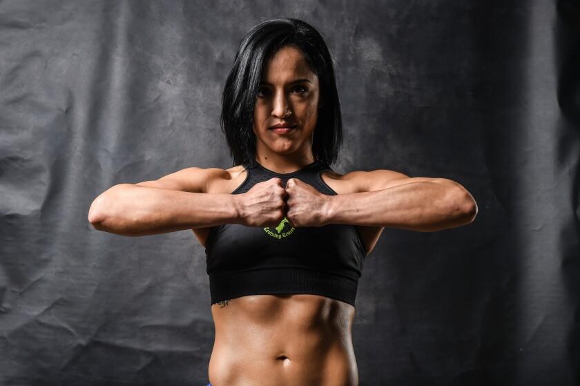 El MMA ha sido un aliciente para la peleadora Paulina 'Firefox' Granados