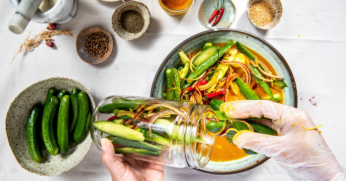 Minh Phan's bread-and-butter pickles
