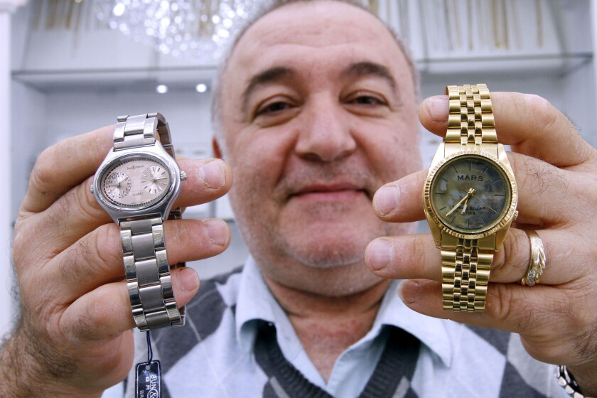 Montrose jeweler makes watches on Mars time