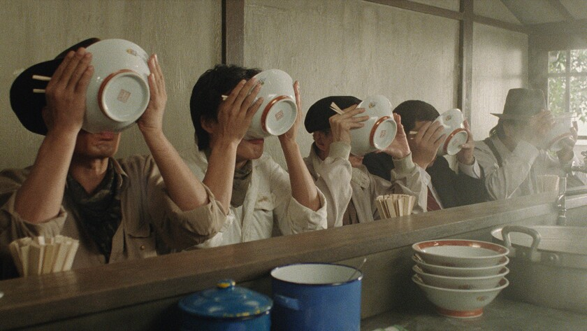 """A scene from the 1985 movie """"Tampopo."""""""