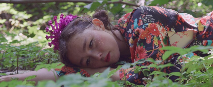 "Writer-choreographer-dancer Matilda Sakamoto in ""If I Sound Happy, That's Your Mistake."""