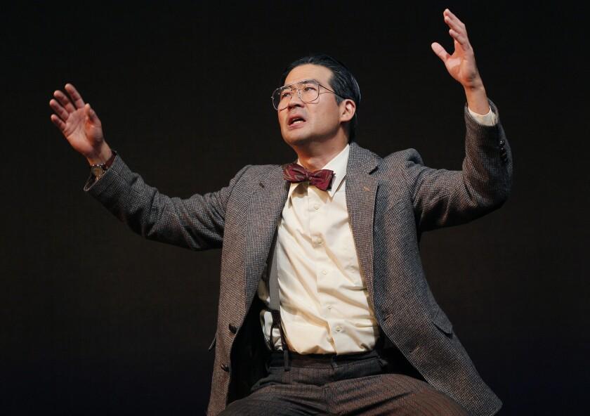 """Ryun Yu as Gordon Hirabayashi in """"Hold These Truths."""""""