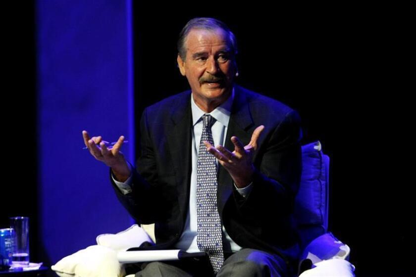 En la imagen, el expresidente de México Vicente Fox. EFE/Archivo