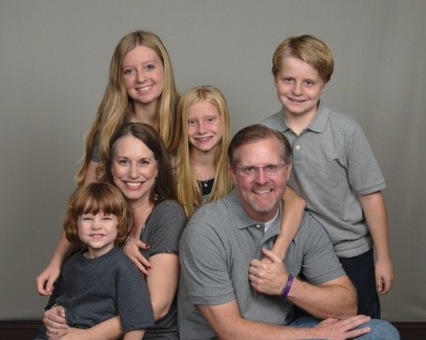 Jeff Wiemann and his family