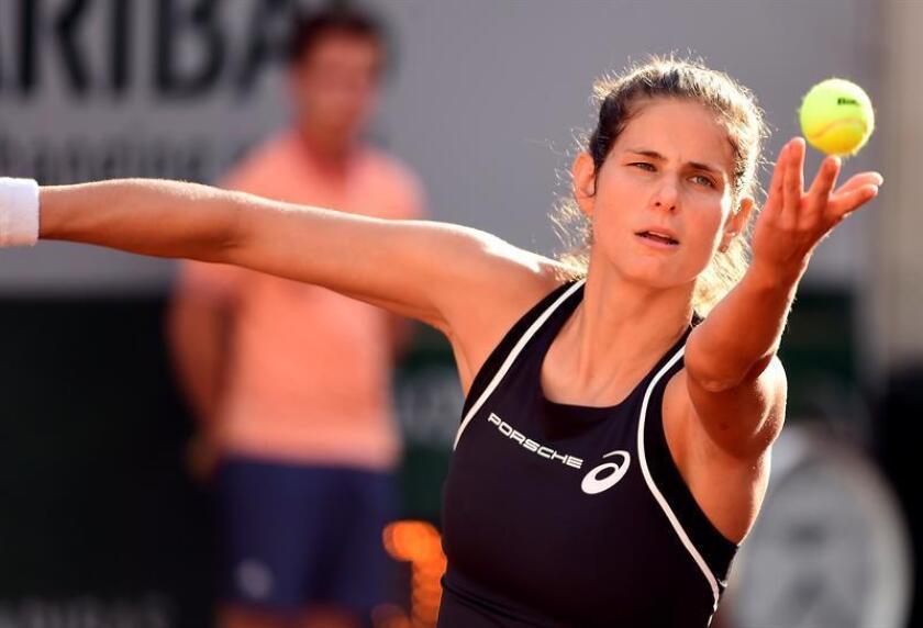 La tenista alemana, Julia Goerges. EFE/Archivo