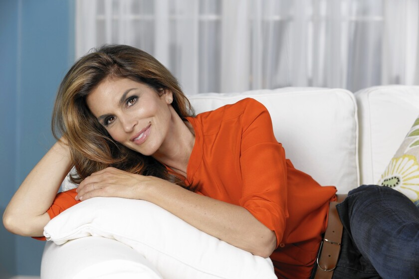 """Cindy Crawford writes about """"Becoming"""" herself in a new book from Rizzoli."""