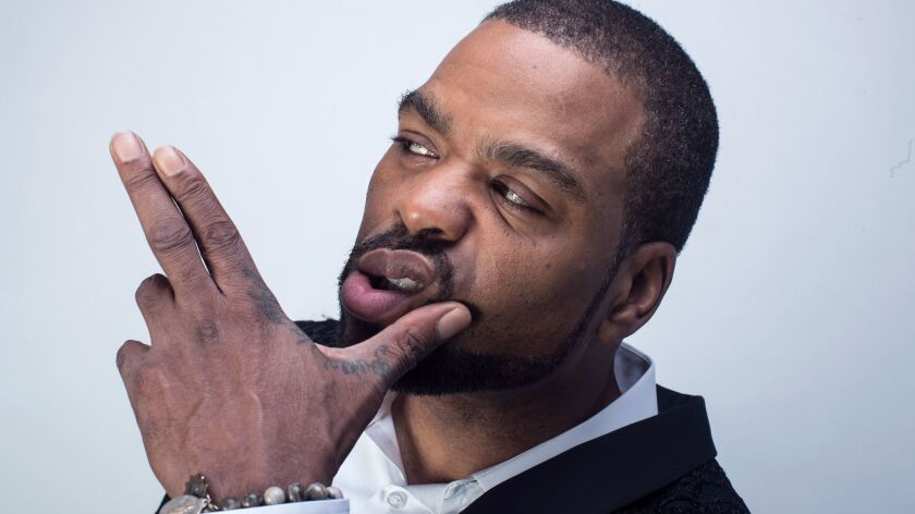 LOS ANGELES, CALIF. -- SUNDAY, SEPTEMBER 24, 2017: Actor and rapper Method Man poses for photos in t