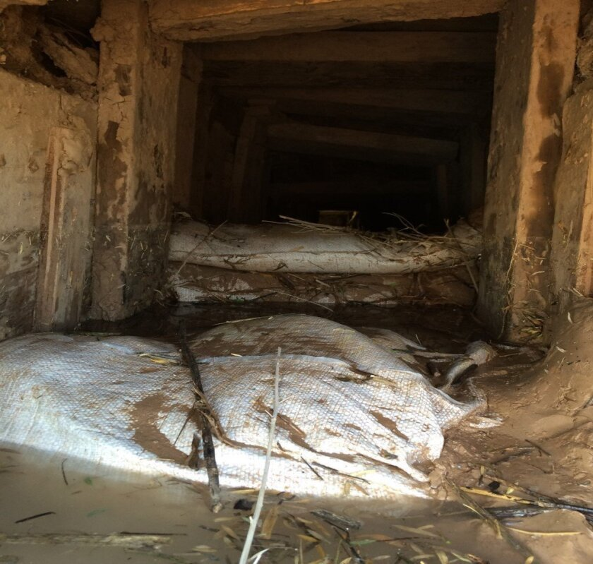 A tunnel leading from Mexico into the United States was discovered by agents from El Centro Sector Border Patrol's Border Search Trauma and Rescue unit.