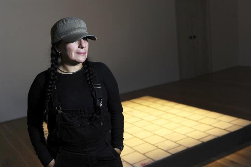 """Fotografía cedida por la organización del premio """"Artes Mundi"""" de la artista mexicana Teresa Margolles. EFE/Archivo"""