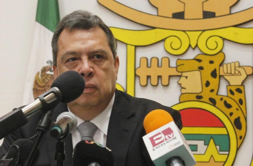 Guerrero state Gov. Angel Aguirre