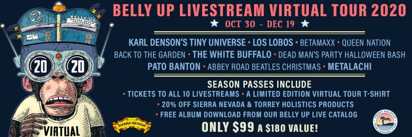 Christmas Music Tours Buffalo 2020 Belly Up announces Livestream Virtual Tour 2020   Rancho Santa Fe