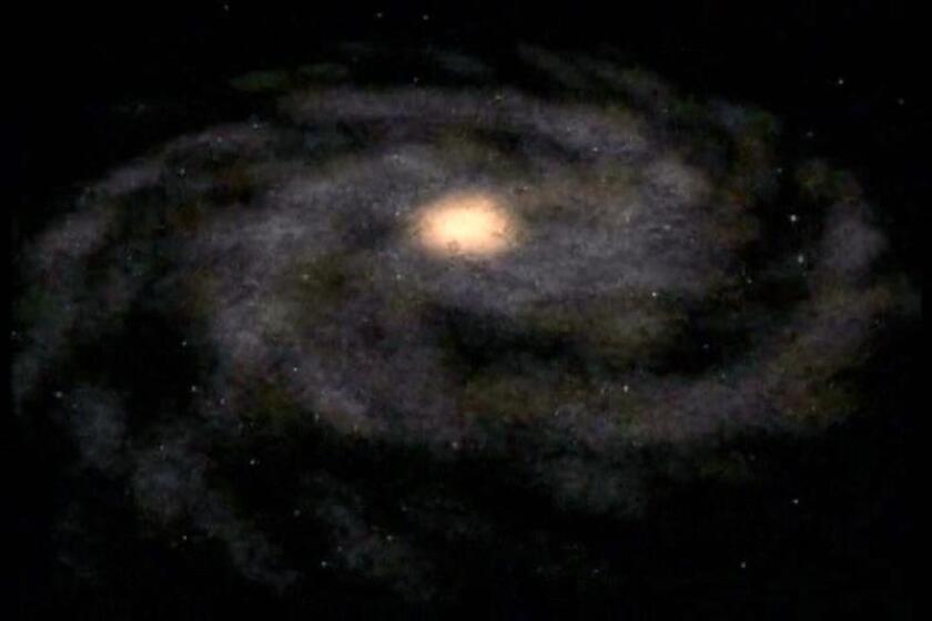 """Una repentina luminosidad presentada por el """"agujero negro"""" de nuestra galaxia tiene a los científicos y astrónomos """"deslumbrados"""" y sin una explicación clara del fenómeno. EFE/Archivo"""