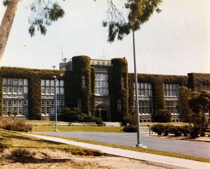 San Diego High School circa 1973.