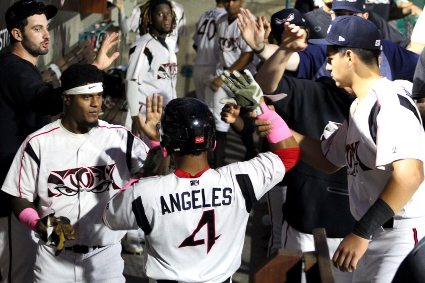 Padres prospect Euribiel Angeles began the 2021 season at low Single-A Lake Elsinore.