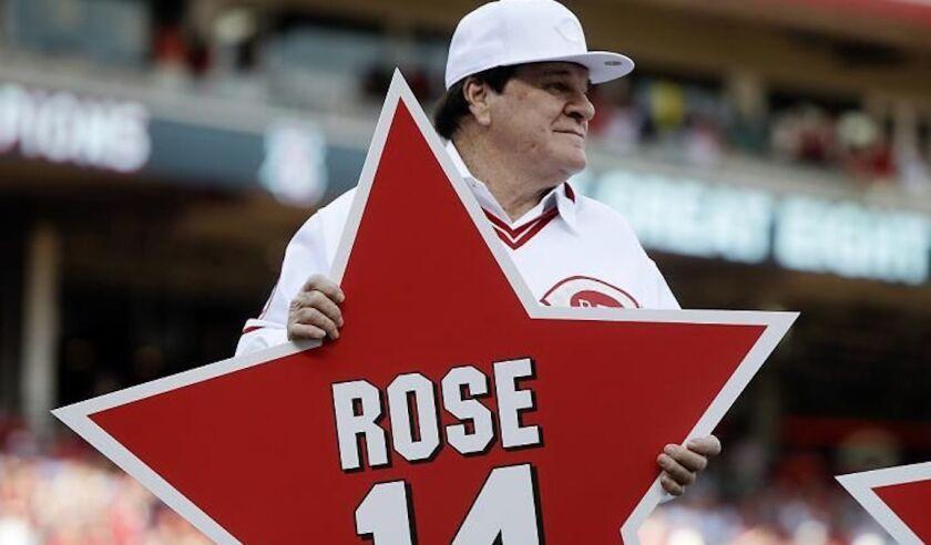 Pete Rose.