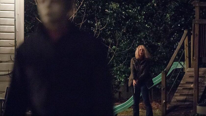 Halloween Film.Halloween And Michael Myers Return But Jamie Lee Curtis Is Waiting