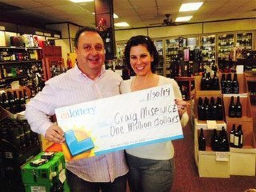 Carmel Valley man wins $1 million at Del Mar store - Del Mar