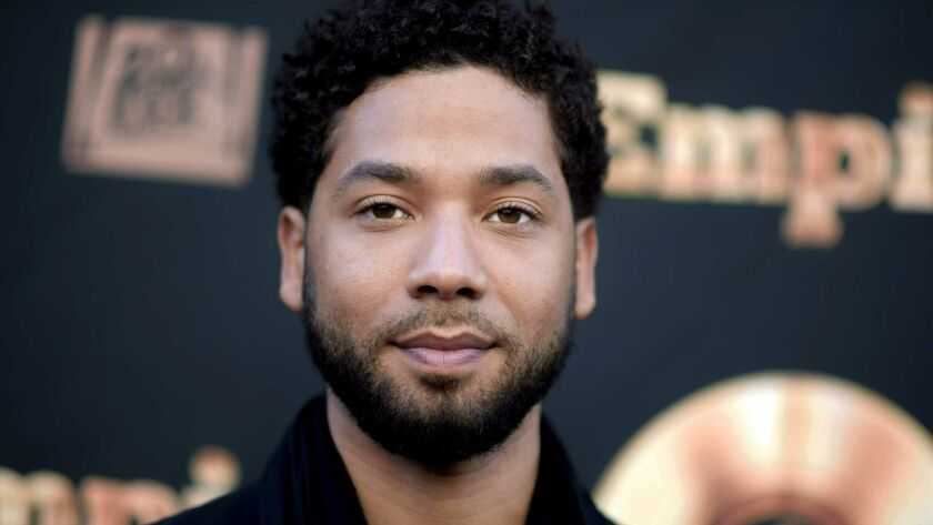 "Jussie Smollett attends the ""Empire"" FYC event in Los Angeles on May 20, 2016."