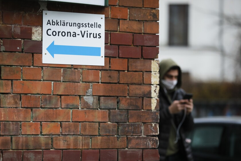 Germany Virus Outbreak
