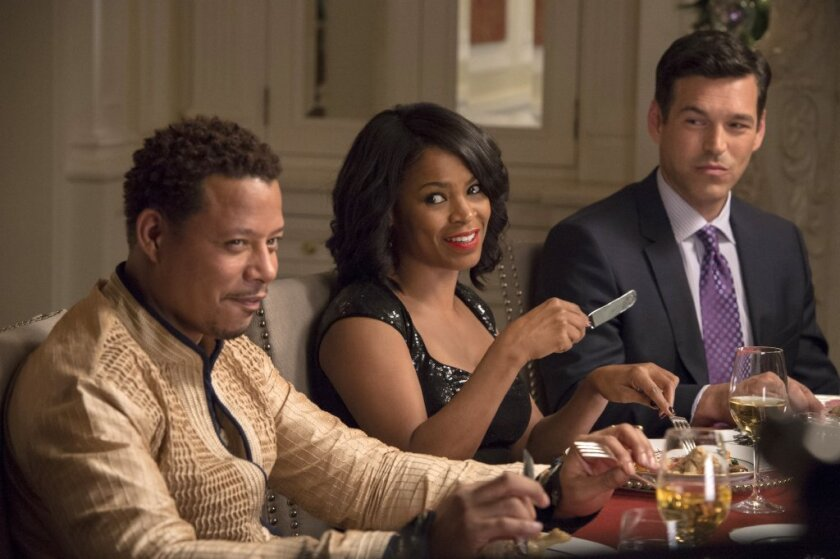 """The success of """"The Best Man Holiday,"""" with Terrence Howard, left, Nia Long and Eddie Ciprian, caught many in Hollywood off guard."""