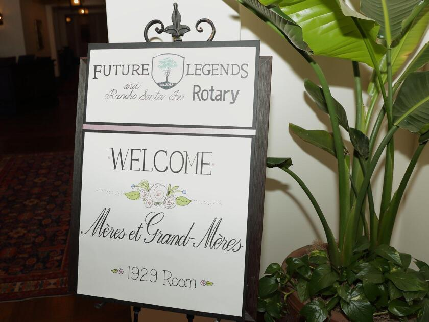 Future Legends and the RSF Rotary inaugural Meres and Grand-Meres Luncheon