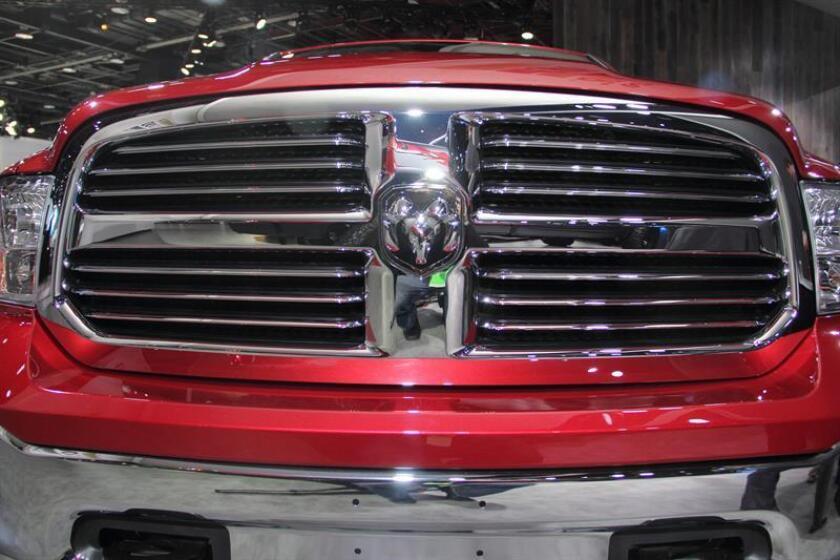 "Detalle del ""pickup"" Ram 1500 del Grupo Chrysler. EFE/Archivo"