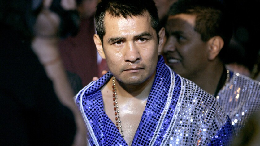 Marco Antonio Barrera, ex campeón mundial mexicano.