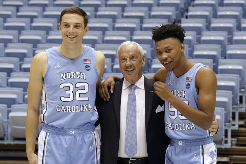North Carolina Basketball Media Day