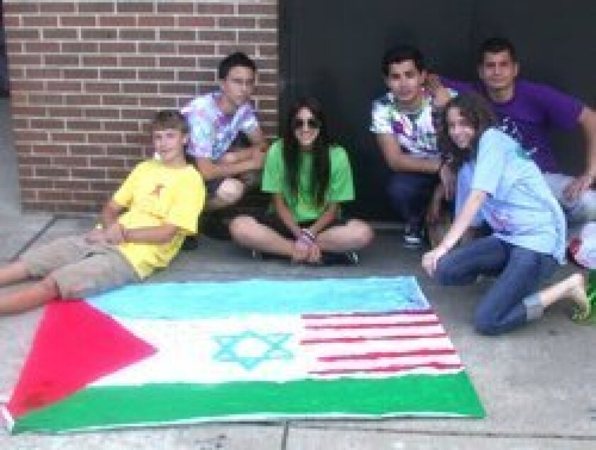 Students from Israel, the Palestinian territories and the U.S. have participated in the Hands of Peace summer program.