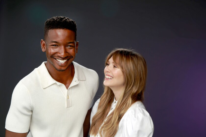"""Elizabeth Olsen and Mamoudou Athie star in """"SORRY FOR YOUR LOSS,"""" a drama from Facebook."""